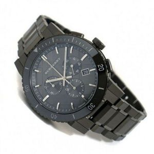 New Burberry Chronograph Ion Men's Bu9381 Watch